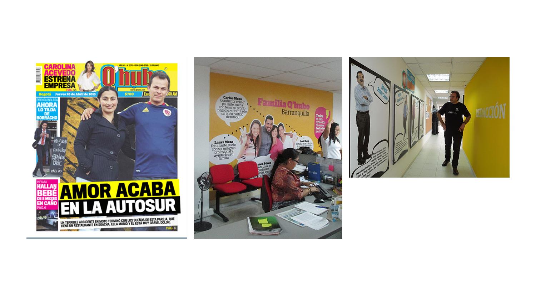 cb615e57b ... diario Q´hubo Barranquilla. Diseño aplicado a las 12 ediciones en todo  el país. Entrenamientos de Contenidos y Comercial en Medellín, Cali, ...